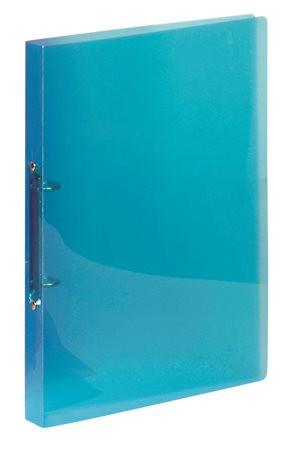 """VIQUEL Gyűrűs dosszié, 2 gyűrű, 25 mm, A4, PP, VIQUEL """"Propyglass"""", kék"""