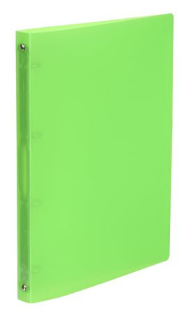 "VIQUEL Gyűrűs dosszié, 4 gyűrű, 25 mm, A4, PP, VIQUEL ""Propyglass"", zöld"