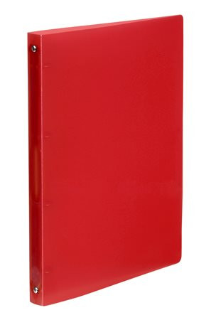 """VIQUEL Gyűrűs dosszié, 4 gyűrű, 25 mm, A4, PP, VIQUEL """"Propyglass"""", piros"""