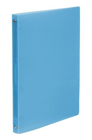 """VIQUEL Gyűrűs dosszié, 4 gyűrű, 25 mm, A4, PP, VIQUEL """"Propyglass"""", kék"""