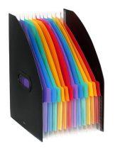 """VIQUEL Iratpapucs, PP, 12 részes, VIQUEL, """"Rainbow Class"""", fekete"""