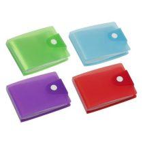 """VIQUEL Bankkártya-és igazolványtartó, 20 betétlappal, VIQUEL, """"Propyglass"""",vegyes színek"""