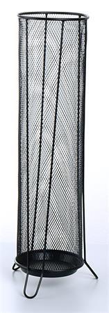 VICTORIA Esernyőtartó, fémhálós, VICTORIA, fekete