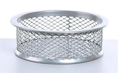 VICTORIA Gemkapocstartó, fémhálós, VICTORIA, ezüst