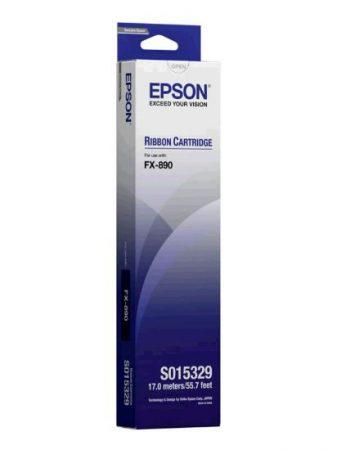 EPSON S015329 Festékszalag FX 890 nyomtatóhoz, EPSON, fekete