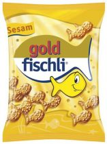 "CHIO Kréker, 100 g, CHIO ""Gold-Fischli"", szezámos"