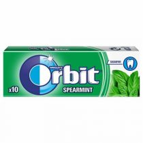 "ORBIT Rágó, 14 g, ORBIT ""Spearmint drazsé"""