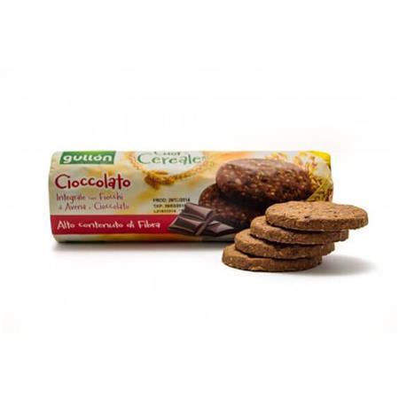 GULLON Gabonakeksz, 280 g, GULLON, csokoládés