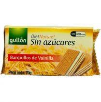 GULLON Nápolyi, cukormentes, 70 g, GULLON, vaníliás
