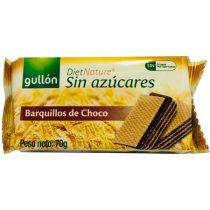 GULLON Nápolyi, cukormentes, 70 g, GULLON, kakaós
