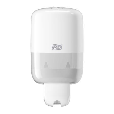 """TORK Folyékony szappan adagoló, S2 rendszer, TORK """"Dispenser Soap Liquid Mini"""", fehér"""