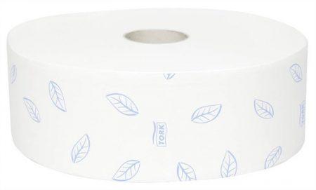 """TORK Toalettpapír, T1 rendszer, 2 rétegű, 26 cm átmérő, TORK """"Premium soft"""", extra fehér"""