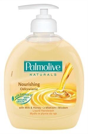"""PALMOLIVE Folyékony szappan, 0,3 l, PALMOLIVE Nourishing """"Milk and Honey"""""""