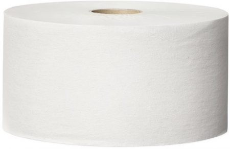 """TORK Toalettpapír, T1 rendszer, 1 rétegű, 26 cm átmérő, Universal, TORK """"Jumbo"""", fehér"""