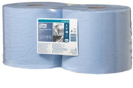 TORK Törlőpapír plusz, tekercses, W1 rendszer, TORK, kék