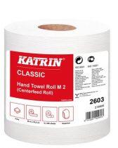 """KATRIN Kéztörlő, tekercses, 2 rétegű, KATRIN, fehér, """"CLASSIC M2"""""""