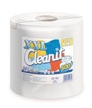 """LUCART Törlőkendő, tekercses, univerzális, 2 rétegű, LUCART """"CLEANIT XXL 500"""", fehér"""