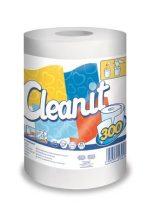 """LUCART Törlőkendő, tekercses, univerzális, 2 rétegű, LUCART """"CLEANIT 300"""", fehér"""
