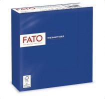 """FATO Szalvéta, 1/4 hajtogatott, 33x33 cm, FATO """"Smart Table"""", sötétkék"""