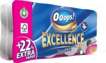 """Toalettpapír, 3 rétegű, 8 tekercses, """"Ooops! Excellence"""""""