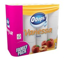 """Toalettpapír, 3 rétegű, 32 tekercses, """"Vanessa"""""""