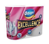"""Háztartási papírtörlő, 3 rétegű, 2 tekercses, """"Ooops! Excellence"""""""