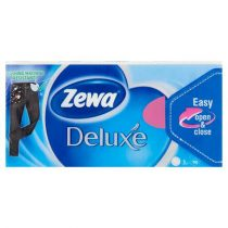 """ZEWA Papír zsebkendő, 3 rétegű, 90 db, ZEWA """"Deluxe"""", illatmentes"""