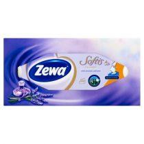 """ZEWA Kozmetikai kendő, 4 rétegű, 80 db, ZEWA """"Softis"""" levendula"""