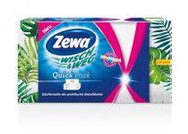 """ZEWA Háztartási papírtörlő, 2 rétegű, 75 lap, ZEWA """"Wish&Weg Quick Pack"""""""