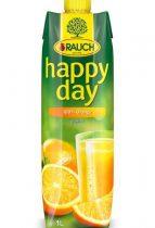 "RAUCH Gyümölcslé, 100%, 1 l, RAUCH ""Happy day"", narancs"