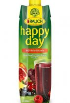 "RAUCH Gyümölcslé, 100%, 1 l, RAUCH ""Happy day"", piros multivitamin"