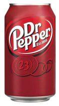 DR PEPPER Üdítőital, szénsavas, 0,33 l, dobozos, DR PEPPER