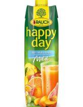 "RAUCH Gyümölcslé, 100%, 1l, RAUCH ""Happy day"", multivitamin mild"