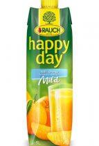"RAUCH Gyümölcslé, 100%, 1l, RAUCH ""Happy day"", narancs mild C vitaminnal"