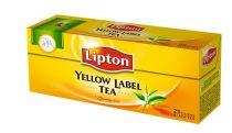 "LIPTON Fekete tea, 25x2 g, LIPTON ""Yellow label"""