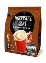 """NESCAFE Instant kávé stick, 10x16,5 g, NESCAFÉ """"3in1"""", barna cukorral"""