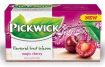 """PICKWICK Gyümölcstea, 20x2 g, PICKWICK """"Fruit Fusion"""", mágikus meggy"""