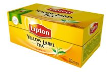 "LIPTON Fekete tea, 50x2 g, LIPTON ""Yellow label"""