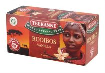 TEEKANNE Herba tea, 20x1,75 g, TEEKANNE, rooibos-vanília