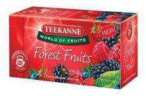 "TEEKANNE Gyümölcstea, 20x2,5 g, TEEKANNE ""Forest Fruits"", erdei gyümölcs"