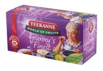 """TEEKANNE Gyümölcstea, 20x2,5 g, TEEKANNE """"Granny Finest"""", szilvás-fahéjas"""