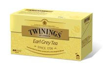 "TWININGS Fekete tea, 25x2 g, TWININGS ""Earl grey"""
