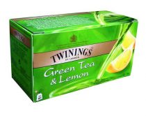 TWININGS Zöldtea, 25x1,6 g, TWININGS, citrom