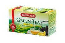 TEEKANNE Zöld tea, 20x1,75 g, TEEKANNE, citrom