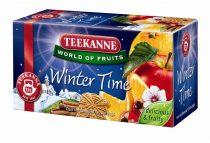 "TEEKANNE Gyümölcstea, 20x2,5 g, TEEKANNE ""Winter time"" fahéj"