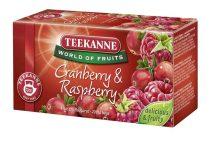 """TEEKANNE Gyümölcstea, 20x2,25 g, TEEKANNE """"Piros bogyók"""", áfonya-málna"""
