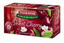 TEEKANNE Gyümölcstea, 20x2,5 g, TEEKANNE, édes cseresznye