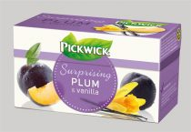 PICKWICK Gyümölcstea, 20x2 g, PICKWICK, szilva, vanília, fahéj