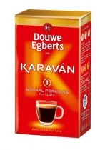 """DOUWE EGBERTS Kávé, pörkölt ,őrölt, vákuumos csomagolásban, 225 g, DOUWE EGBERTS """"Karaván"""" normál pörkölés"""