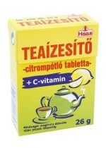 Teaízesítő, citrompótló, 20 g, HAAS